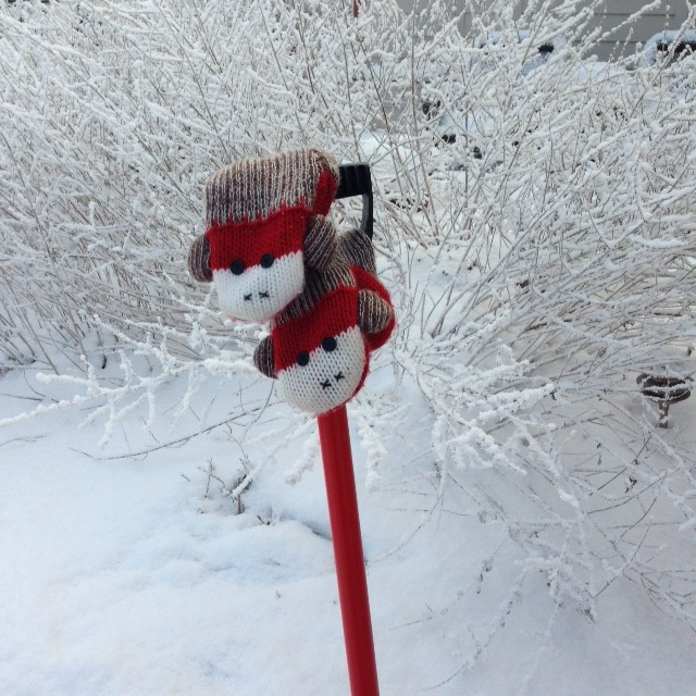 Sock Mittens & Shovel
